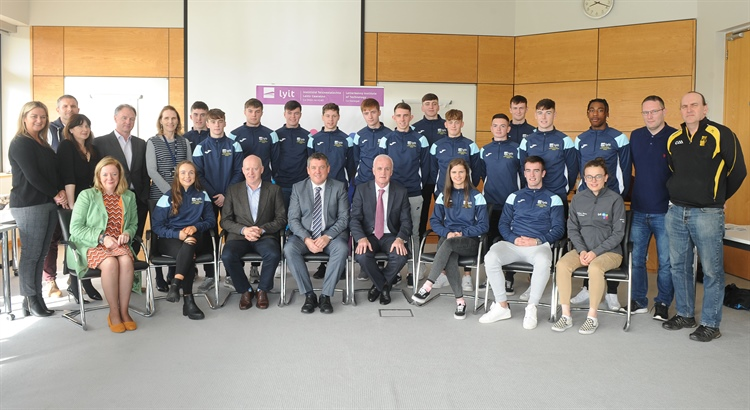 New Entrant Sports Scholarships awarded at LYIT