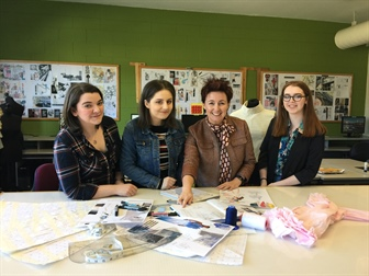 LYIT Fashion Students Finalists in the Forthcoming Irish Fashion Innovation Awards: Student Designer of the Year 2018