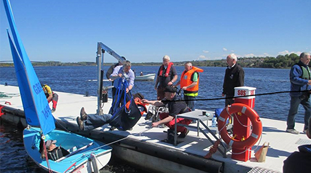 LYIT students get chance to sign up early for Foyle Sailability